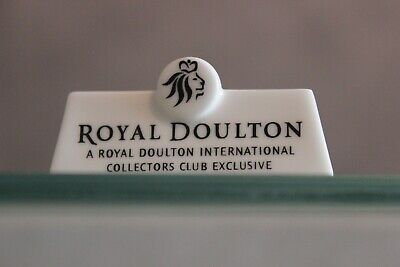 Royal Doulton Plaque For An International Collectors Club - Exclusive  • 9.99£
