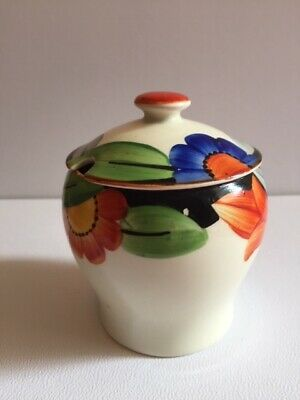 Susie Cooper Jam/honey Pot With Lid Original Highly Collectable Art Deco • 45£