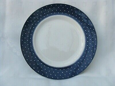 Ridgway - Conway - Blue -  Dinner Plate: 24,5 Cm. Good Condition. • 12£