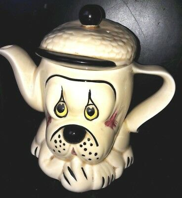 Collectable P & K Dog Shaped  Teapot Hand Painted Price & Kensington 1970's  • 7.99£