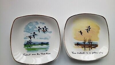 Vintage Midwinter 2 Pin Dish By Peter Scott • 10£