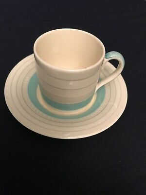Susie Cooper Art Deco Coffee Can And Saucer • 8£