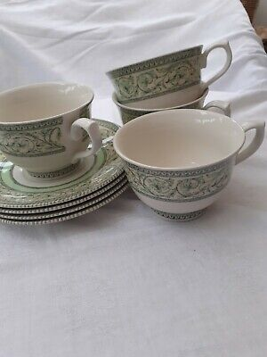 Royal Horticultural Society - Applebee - 4 Tea Cups And Saucers • 15£