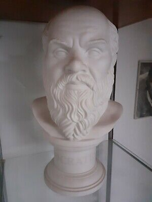 Socrates Royal Doulton Head Bust 500 Limited Edition Excellent Condition • 499£