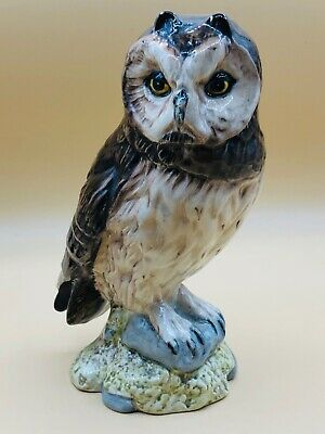 Royal Doulton Short Eared Owl Whyte And Mackay Figurine 1984 • 45£