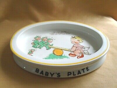 Shelley Mable Lucie Attwell Baby Dish - Seesaw • 2.99£