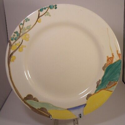Clarice Cliff Newport Pottery Secrets Bizarre Hand Painted 10  Plate  • 59.99£