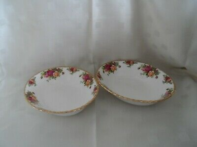 Royal Albert, Old Country Roses Open Vegetable Dishes S Two. • 19£