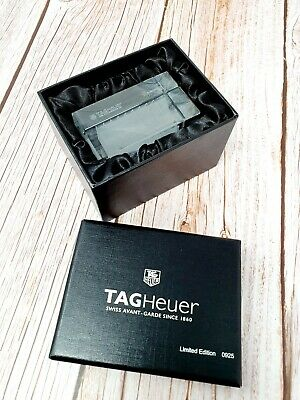 Tag Heuer Watch Company Limited Edition Glass Paperweight Baselworld 2007 Rare • 80£