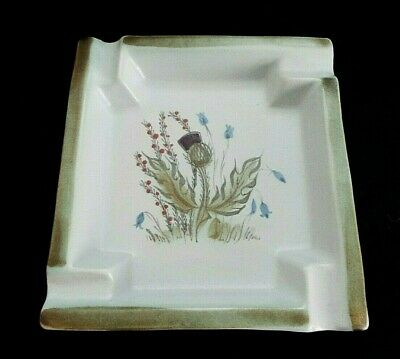 Buchan Stoneware Thistle Square Ashtray • 19.95£
