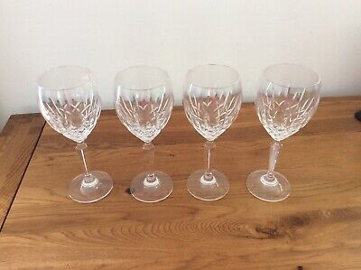 Four Waterford Crystal Wine Glasses • 35£