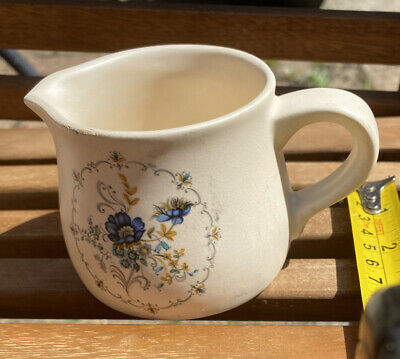 Small Purbeck Ceramics Floral Jug Made In England • 1.10£