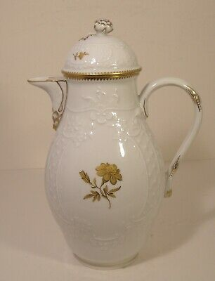 Meissen Hand Painted Coffee Pot Second Quality • 34.99£
