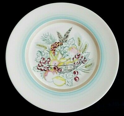 Gray's Handpainted Fruit Bowl Picture On A 10.3/4  Plate • 14.50£
