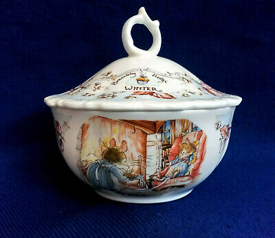 Royal Doulton Brambly Hedge ~ Four Seasons  Winter    Powder Bowl • 39.99£