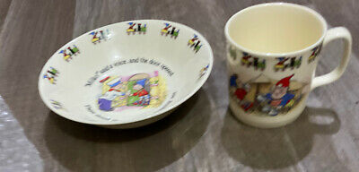 Royal Stafford Noddy Collection Cup And Bowl • 12.99£