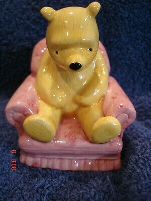 Royal Doulton Winnie The Pooh Figurine Sitting In The Arm Chair • 4.99£