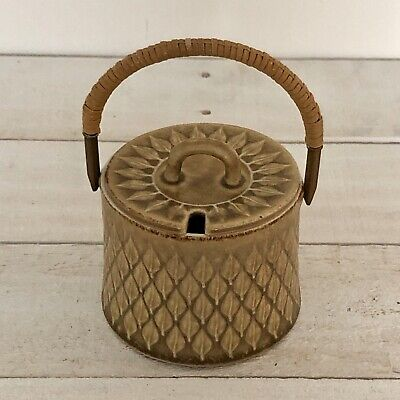 Jens Quistgaard Relief Covered Jam Pot Jar Kronjyden Denmark Danish Modern • 30.63£