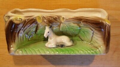 Eastgate Posy Log With Small Horse • 7£