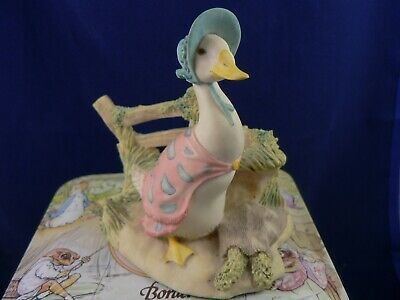 Border Fine Arts  JEMIMA PUDDLE DUCK SETS OFF BP7   • 42.99£