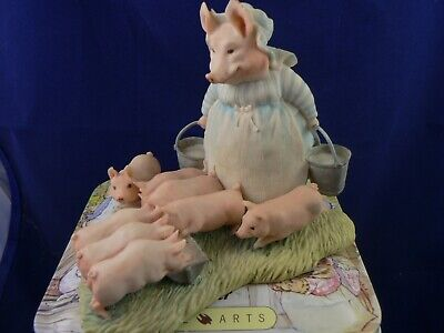 Border Fine Arts  AUNT PETTITOES AND PIGLETS BP2   • 44.99£