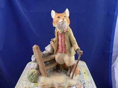 Border Fine Arts  FOXY WHISKERED GENTLEMAN BP19   • 52.99£