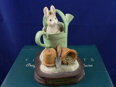 Border Fine Arts  PETER RABBIT IN WATERING CAN CBP07 • 44.99£