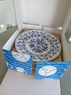 Zwiebelmuster Blue Onion  6 Large Dinner Plates Unused / New #2  • 95£