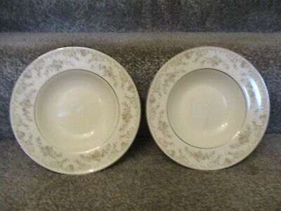 Royal Doulton Diana The Romance Collection RIMMED BOWLS X 2 • 11.99£