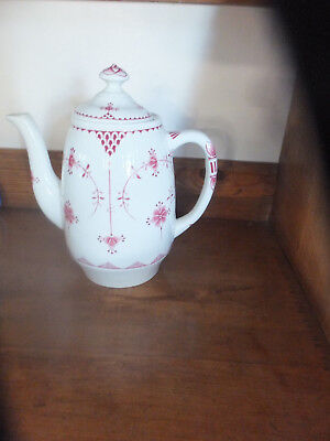 FURNIVAL PINK DENMARK  COFFEE POT  [UK Seller] • 45£