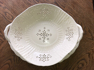 Royal Creamware Originals Serving Dish & Under Plate • 19.99£