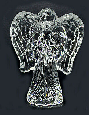 CRYSTAL GUARDIAN ANGEL ORNAMENT 7cm • 6.99£