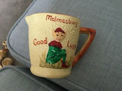 Early Vintage Manor Ware Jug. MALMESBURY. • 9.99£