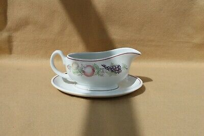 Boots Orchard Gravy/Sauce Boat With Saucer • 5.99£