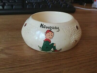 Vintage Manor Ware Pixie Tea Strainer Bowl..  NEWQUAY. • 8.99£