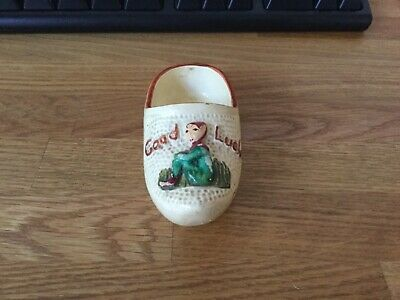 Early Vintage Manor Ware Clog From CLACTON-ON-SEA • 9.99£