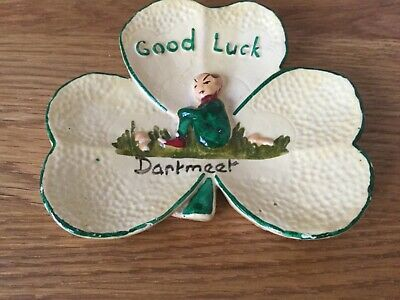 Early Vintage Manor Ware Shamrock From DARTMEET. Makers Marks. • 9.99£