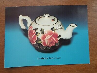 Advertising Card For The 2002 Wemyss Jubilee Teapot • 0.99£