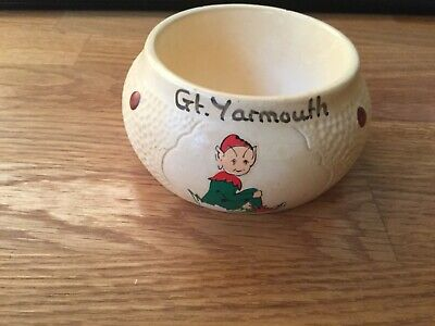 Vintage Manor Ware Potporri Bowl From GT YARMOUTH.  Makers Mark And Year 1976 • 9.99£