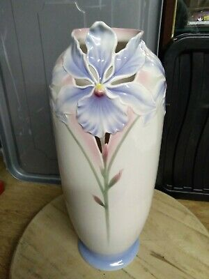 Franz Collection Orchid Vase In Original Box Number Xp1823 • 60£