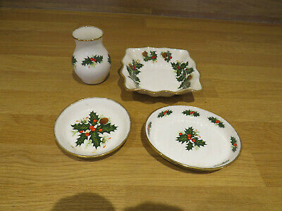 Queens Bone China Small Vase/dishes • 15£
