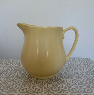 Vintage Meakin (England) Glamour Sol Sunflower Pitcher Jug Yellow 1950's  • 15.99£