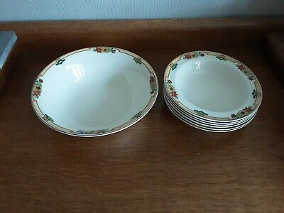 Dessert Bowls Set By J And G Meakin • 18£