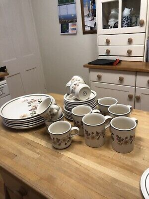 Marks And Spencer Autumn Leaves Crockery Set M&S Kitchenware • 65£
