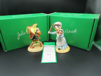 Beswick Punch And Judy Figures Boxed With Coa Ltd Edition #536 Of 2500 Mint • 199.99£