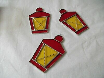 Stained Glass Handmade 2 X Christmas Decorations Just Pick Any Two • 15£