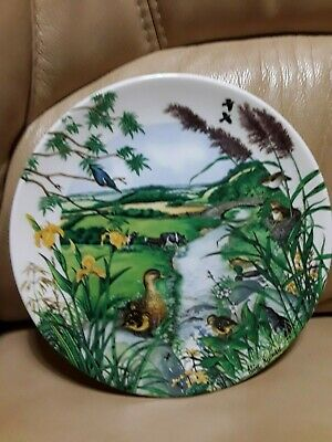 Midwinter Nibbles Tray On Stand & Wedgwood Disply Plate Meandering Stream • 12.99£