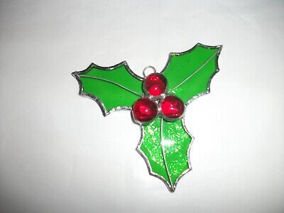 Stained Glass Handmade Christma Holy Christmas Decoration • 8£