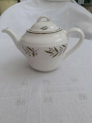 Small Portland Pottery China Teapot - Capacity 550 Ml / 1 Pint  • 7£