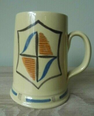 "Vintage Buchan Portobello Pottery Ladies Tankard Costa Brava Design 4"" Tall 1956 • 4.99£"